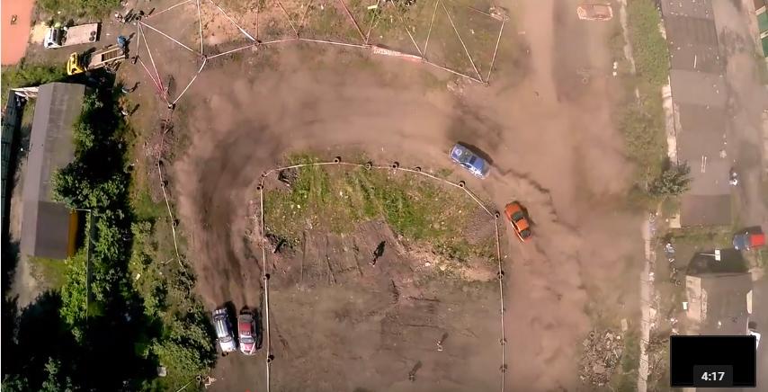Wrak-Race Silesia XXIV 5.06.2016 Video z drona