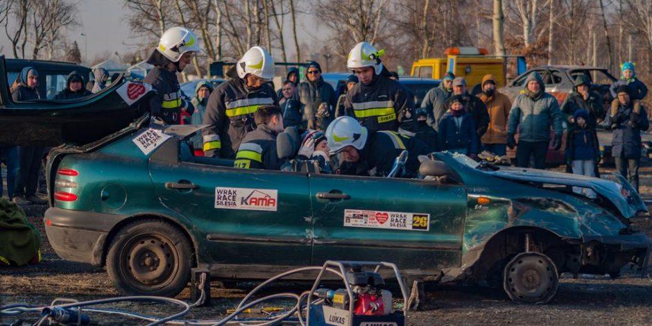Pokaz ratownictwa OSP Ostropa Gliwice