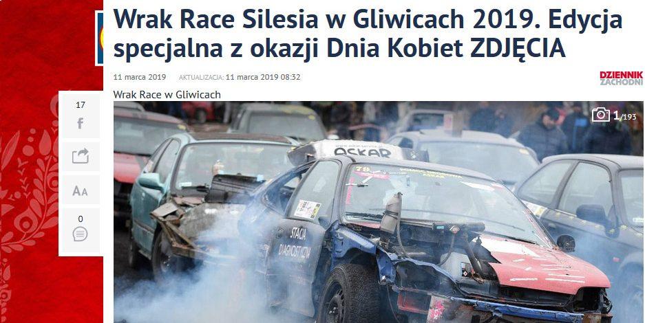 WRAK-RACE Silesia DZIEŃ KOBIET 10.02.2019 GALERIA DZ !