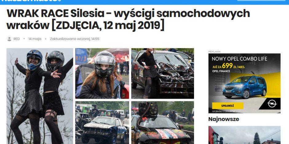 Majówka z WRAK-RACE Silesia 12.05.2019 GALERIA !