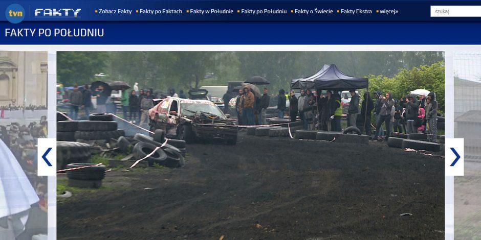 Relacja TVN 24  – Majówka z WRAK-RACE Silesia 12.05.2019