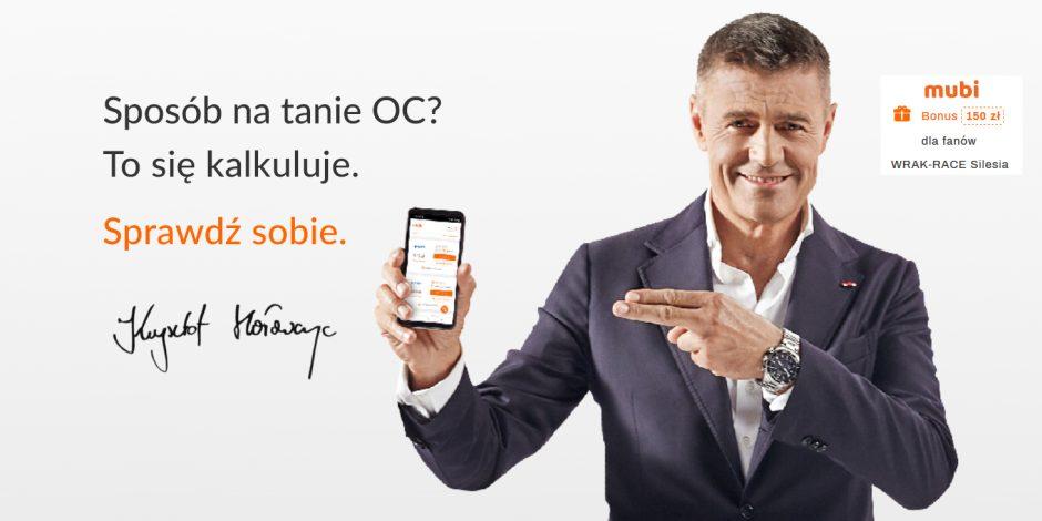PROMOCJA MUBI & WRAK-RACE Silesia ! OC 150 zł TANIEJ !